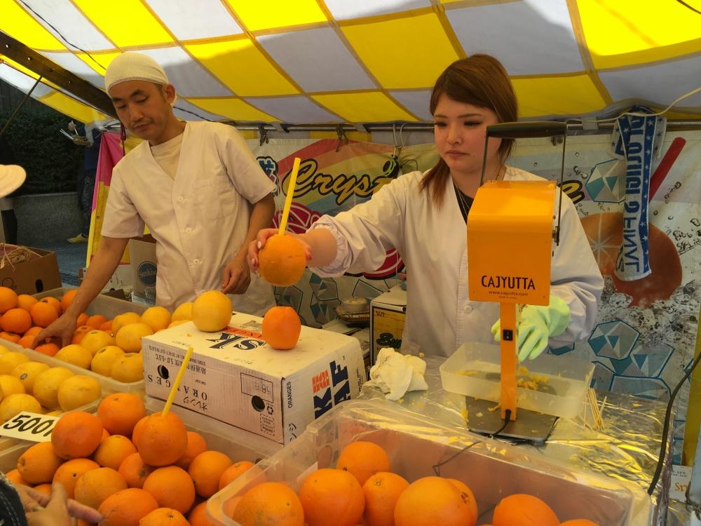 healthy fruit in japan