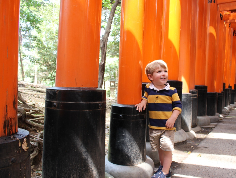 toddler travel in japan