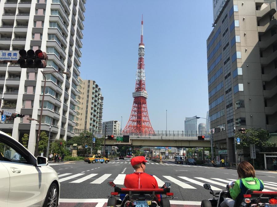 Tokyo Tower Mario Kart
