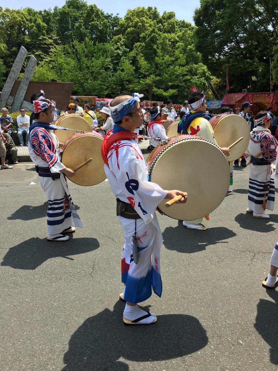 drummers in Japan