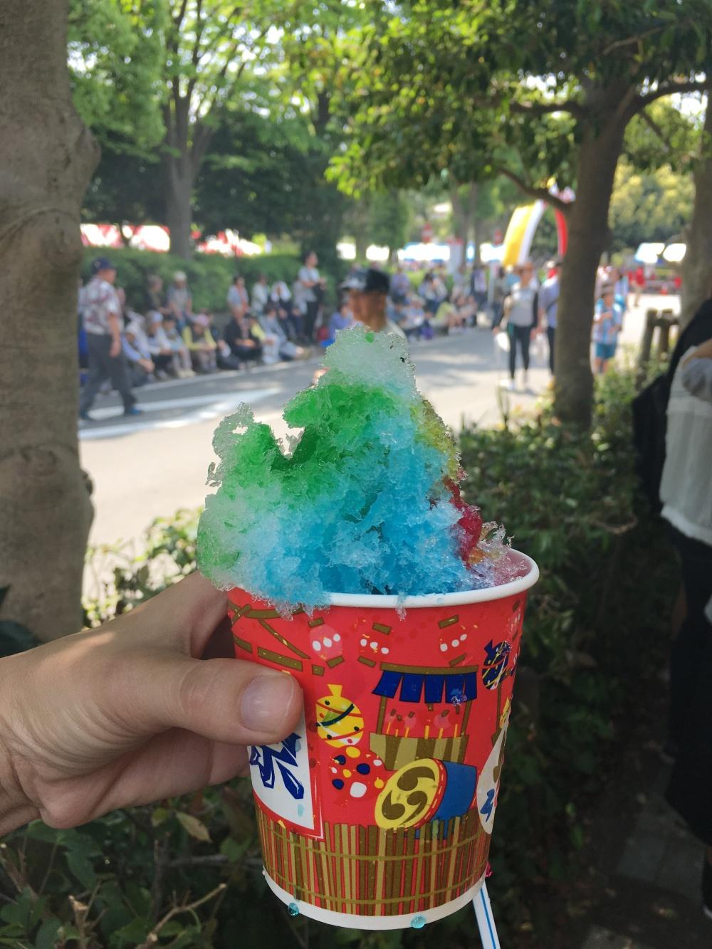 ice cream in japan