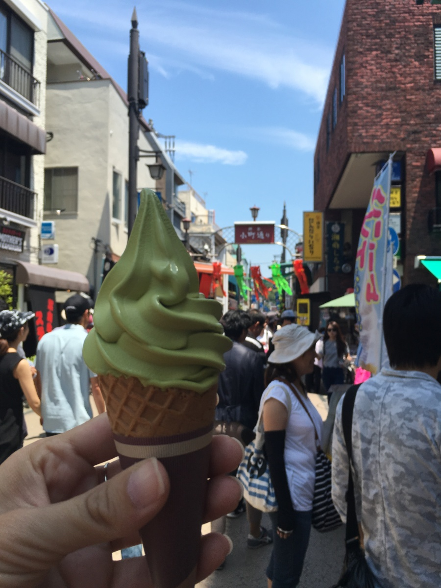 soft-serve ice cream in japan