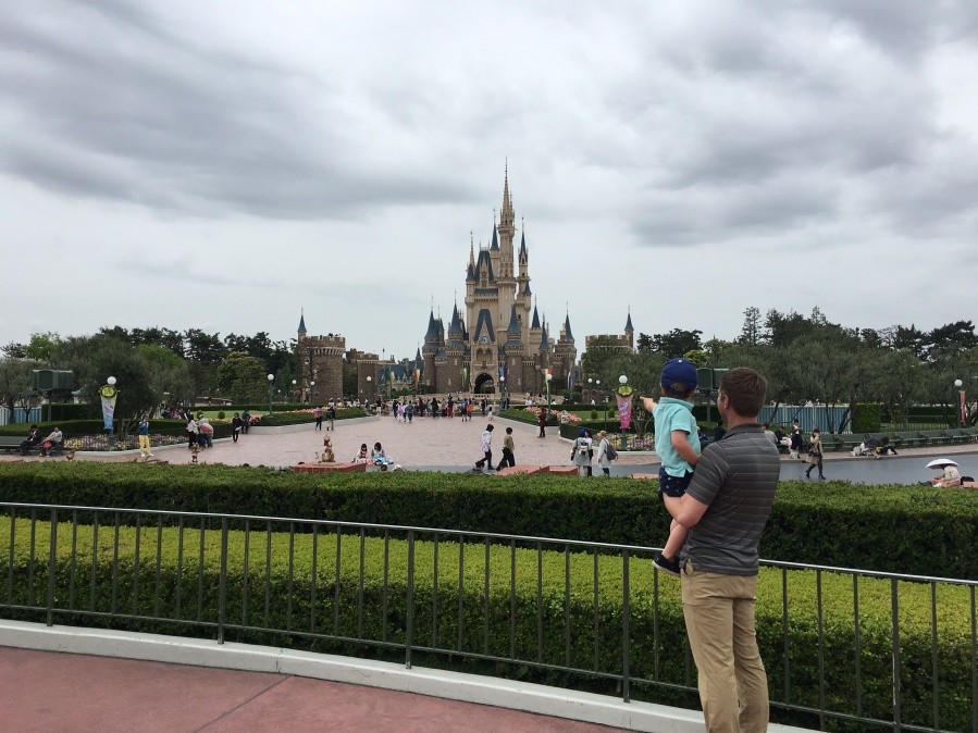 Taking a Toddler to Tokyo Disney