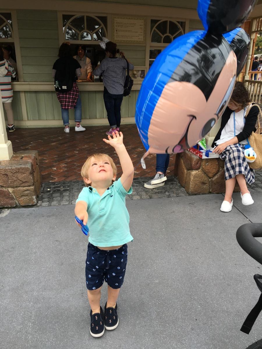 Taking a Toddler to Tokyo Disneyland