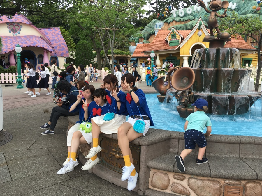 Fashion at Tokyo Disney