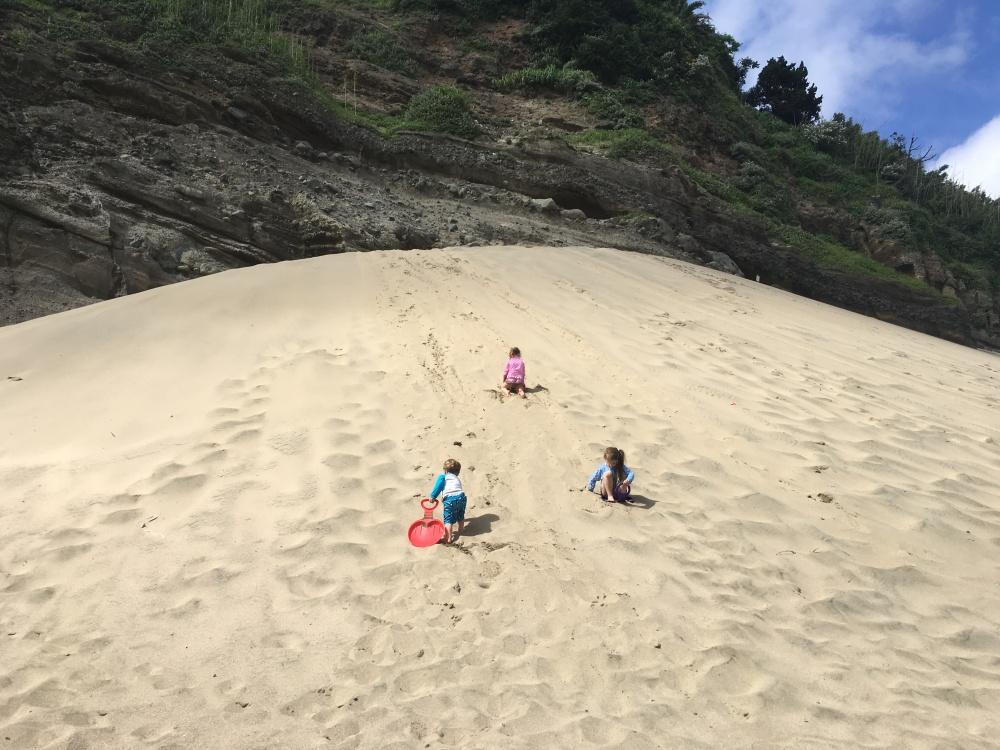 Sand Ski