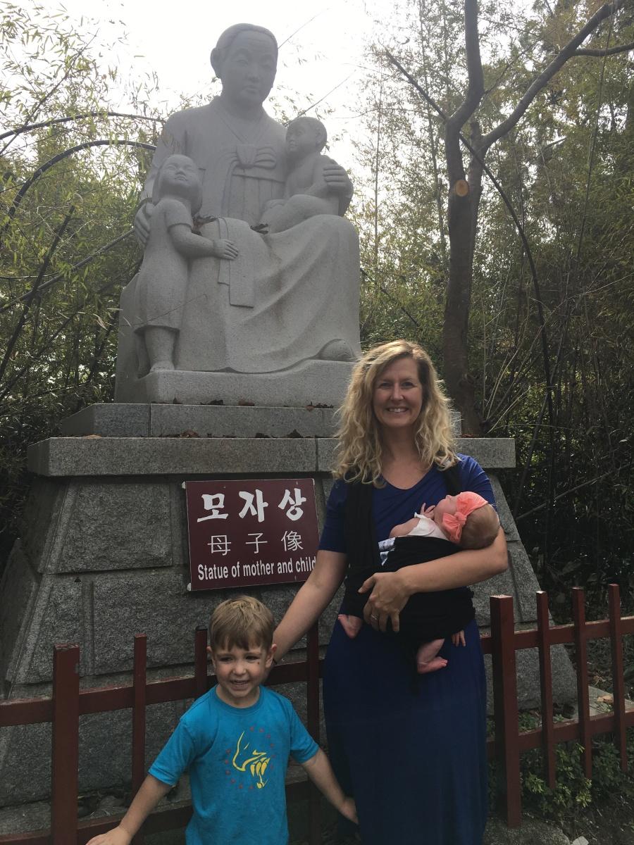 south korea with kids